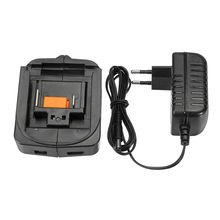 EU Plug Replacement 14.4V-18V Li-ion Battery Charger With USB Output for Makita BL1430 BL1830 Power Tool Battery Tool(China)