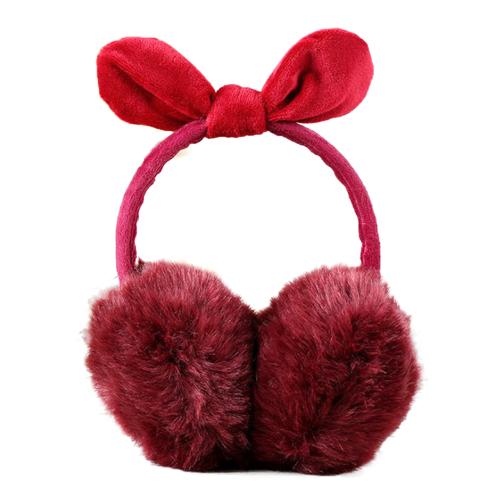 2019 New Winter Earmuff Plush Women Fur Earmuffs Winter Ear Warmers Cartoon Cat Ear Style Large Plush Warm Earmuffs Ear Package