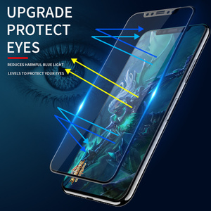 Image 5 - IHaitun Luxo 6D 11 Pro Max XS MAX XR X Protetor de Tela de Vidro Para o iphone Curvo de Vidro Temperado Para o iphone X 11 10 7 8 Plus Filme Cobertura Completa SE SE2 2020