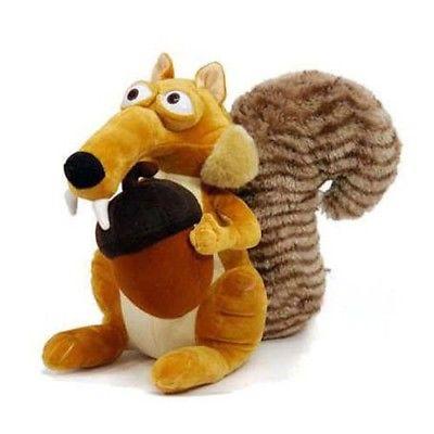 Funny Cute  Animal Doll Ice Age 3 SCRAT Squirrel Stuffed Plush Toy Gift