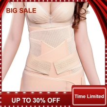 Waist Polyester Postpartum Abdominal Belt Recovery Belly/abdomen/pelvis Shapewear Breathable 3in1 Belly Special Offer 2016
