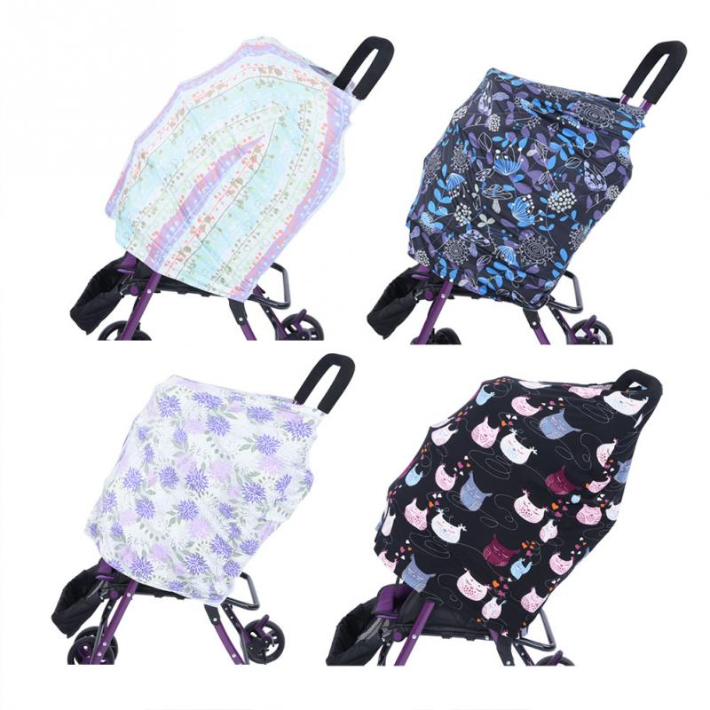 Strollers Accessories Activity & Gear Cotton Nursing Covers Baby Car Seat Cover Feather Mum Stretchy Breastfeeding Cover Nursing Scarf Blanket Cloth Anti-sun Sunshade