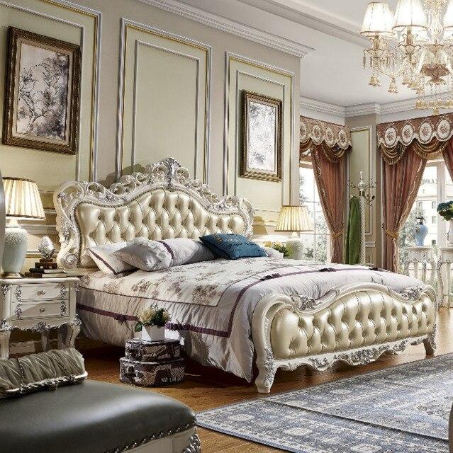 Ensemble de 6 pcs Europe Style Chambre Meubles De Maison cadre de ...
