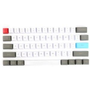 Image 4 - 61 clés ANSI mise en page OEM profil PBT touches épaisses pour 60% clavier mécanique pour Cherry MX commutateurs clavier de jeu Keycap seulement