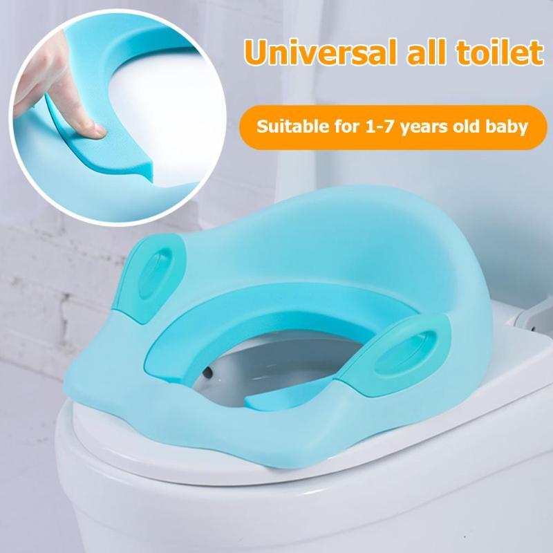 Bébé voyage pliant pot siège Portable toilette chaise Pad bambin urinoir coussin formation siège réglable formation chaise mignon