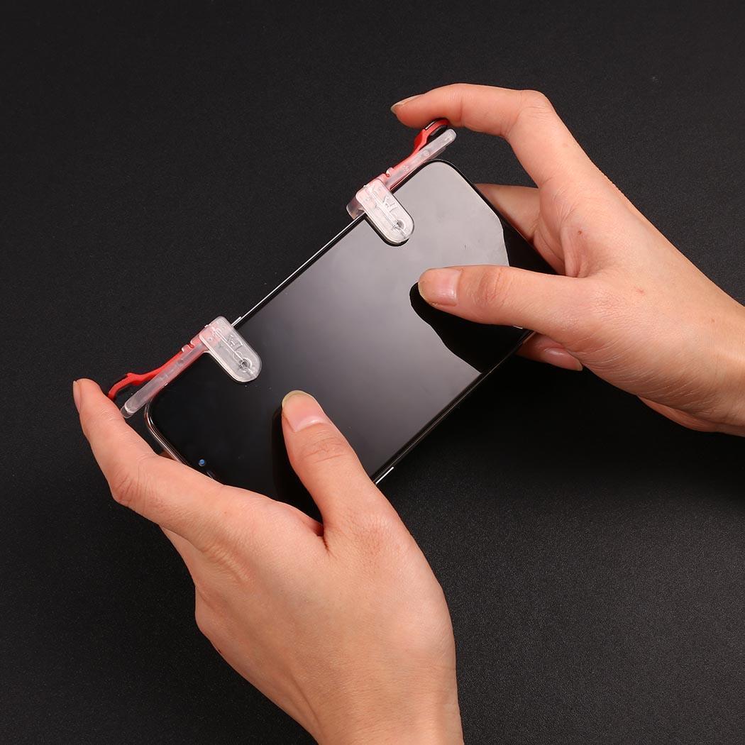 UnermüDlich Mobile Joystick 1 Paar Handy Spiel Controller Schießen Mit Dem Ziel Löst Feuer Taste Tasten Casual Hause Outdoor Mehr Freies Steuerknüppel Videospiele