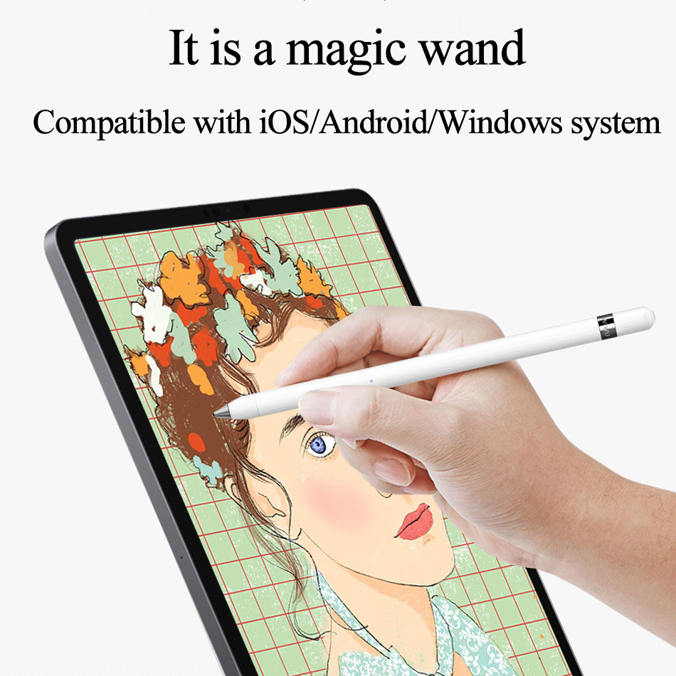 WIWU New Tablet Touch Pen for iPad Capactive Screen Universal Stylus Phone Pencil Pro 2018