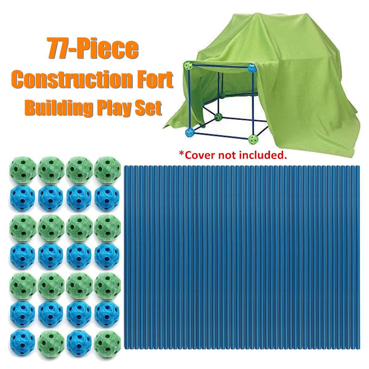 72 pièces construire Construction Fort bébé jouet tentes pour enfants château jouer tente maison meubles enfants Enfant chambre jouer jouets piscine