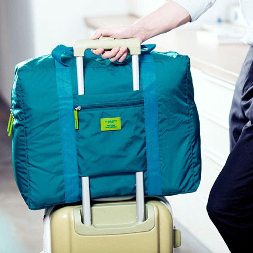 2018 Neue Stil Mode Faltbare Reise Lagerung Gepäck Tragen-auf Zipper Organizer Hand Schulter Big Bags Eine Hohe Bewunderung Gewinnen