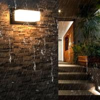 18W LED Wall Light Waterproof IP65 Porch Light Modern LED Wall Lamp Radar Motion Sensor Courtyard Garden Outdoor Light