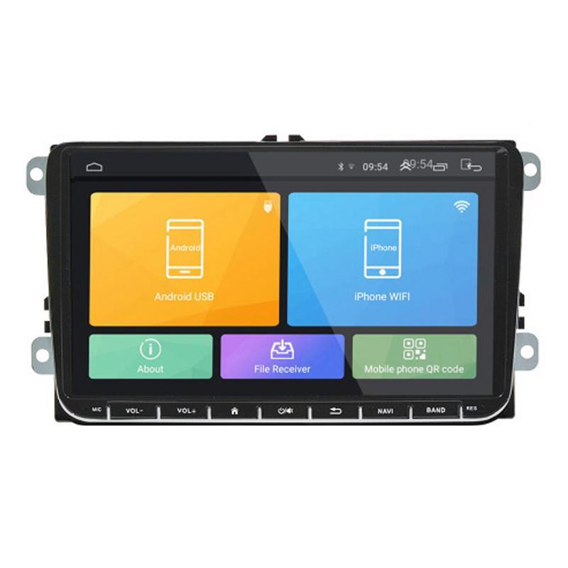 Nouveau 9 Android 8.1 voiture GPS Navigation pour VW Volkswagen SKODA GOLF 5 Golf 6 POLO PASSAT B5 B6 JETTA TIGUAN lecteur Dvd BT RDS