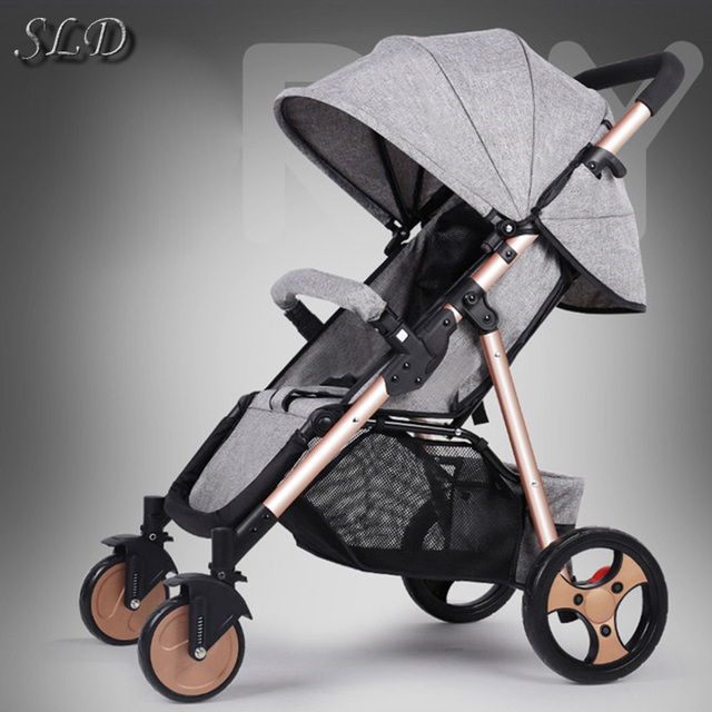 SLD stroller and easy folding can carry high quality free shipping on the plane to Russia