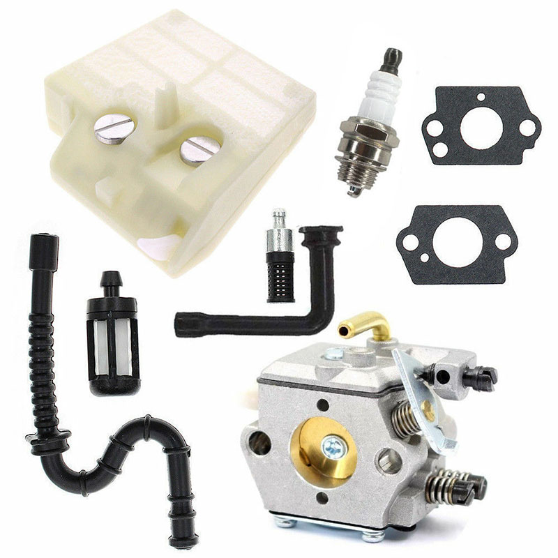 High Quality Carburetor Kit For Walbro WT-194 Stihl 024 026 MS260 024S 024AV Chain Saw For Industrial Manufacturing Tools Parts