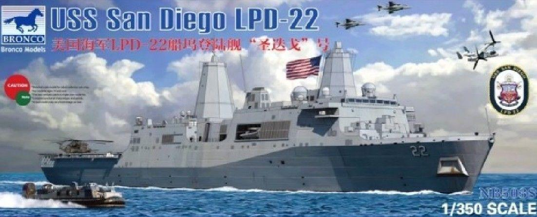 Hobby Store San Diego >> Us 62 69 Bronco Nb5038 1 350 Uss San Diego Lpd 22 Amphibious Transport Dock Ship In Model Building Kits From Toys Hobbies On Aliexpress