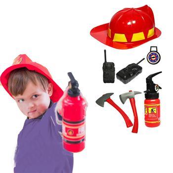 Para NiñosBomberoDisfraz Juguete Extintor Fuego De Juego qUzMpSV