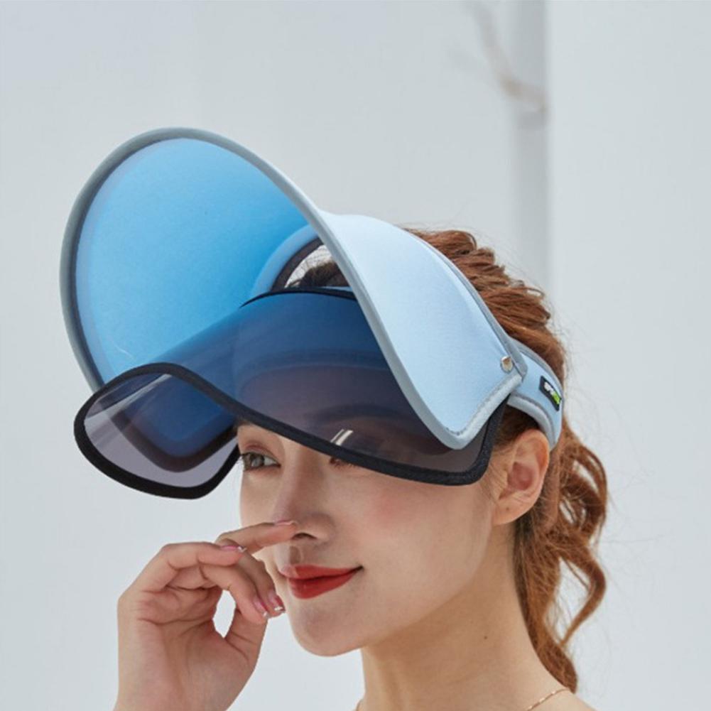 MISSKY женская мужская Кепка унисекс Солнцезащитная уличная двухслойная Солнцезащитная шляпа летняя женская кепка для верховой езды с УФ-защитой для мужчин и женщин