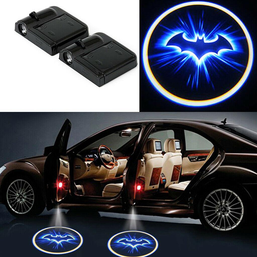 1 X Wireless Car Door Led Welcome Laser Projector Logo Ghost Shadow Light Batman