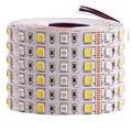Светодиодная ленсветильник RGB 5050 SMD RGBW RGBWW RGB WWA RGB + CCT, 5 м, 12 В постоянного тока, 24 В, Гибкая светодиодная полоса, праздничное декоративное освещ...