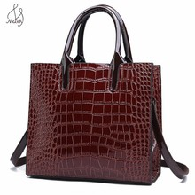 Luxury Handbags Designer Pu Women Leather Handbags Clutch Shoulder Bag Alligator Pattern Ladies Crossbody Handbag Messenger Bags