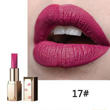 Matte lipstick Velvet Women Waterproof Party Dating Casual Long Lipstick  Cosmetic Lasting Frosted fashion trend