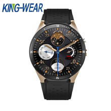 KINGWEAR KW88 Pro 3G Smart watch Phone 1.39 inch Android 7.0 MTK6580 Quad Core 1.3GHz 1GB RAM 16GB ROM Smart Watch GPS(China)