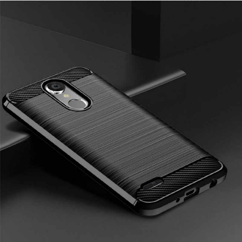 For LG Tribute Empire Case Soft Brushed Carbon Fiber TPU Cover For LG Tribute Dynasty Case Anti-knock Schockproof Phone Cover