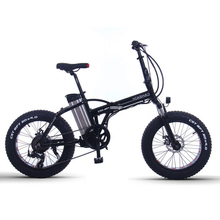 20inch Electric Mountain Bicycle 48v350w Motor 12ah Lithium Battery Snow Electric Bike Folding Fat E-bike new arrival double lg battery 100 150km long range electric bike mountain style full suspension e bike
