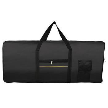 61 Keys Electronic Piano Keyboard Bag Waterproof Portable Oxford Thickened Electronic Organ Cover Case for Universal Instrument