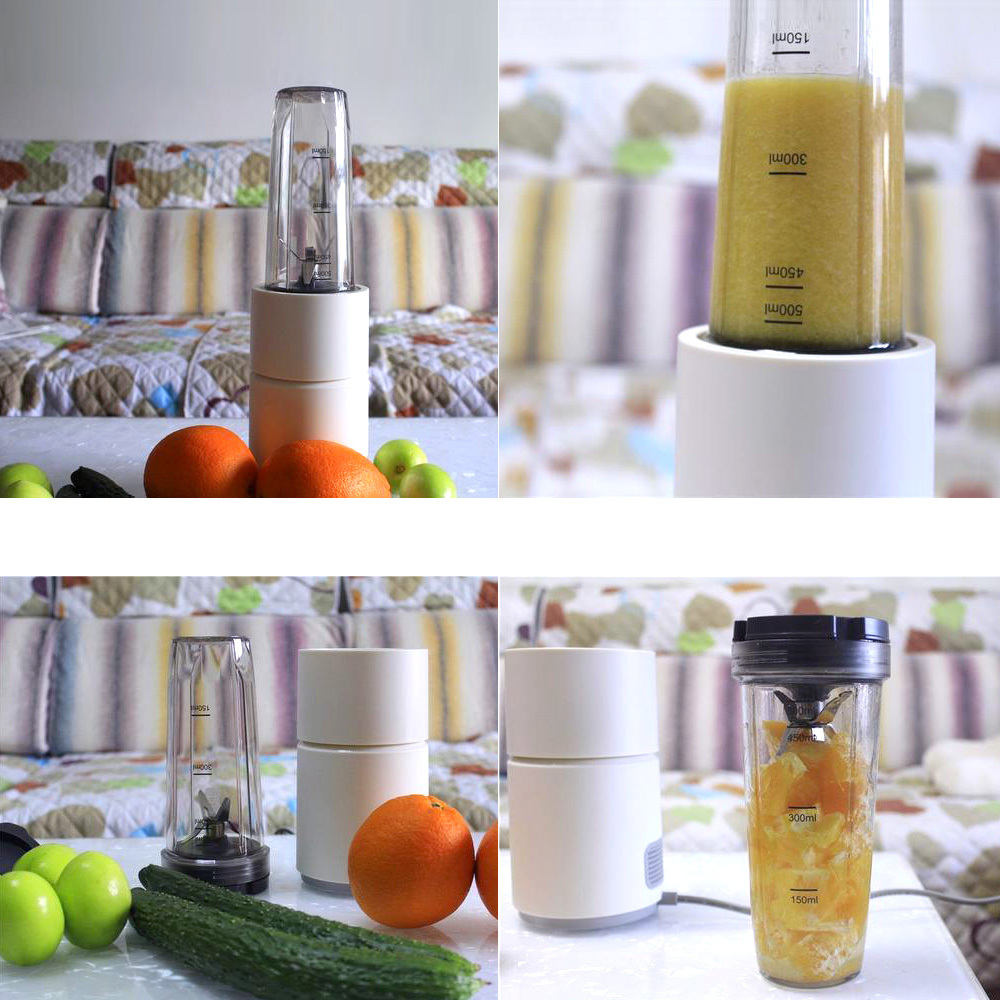 Image 5 - Xiaomi Pinlo Little Monster Fruit Vegetable Cooking Machine Mini Electric Fruit Juicer Fruit Squeezer Household Travel Juicer-in Blenders from Home Appliances