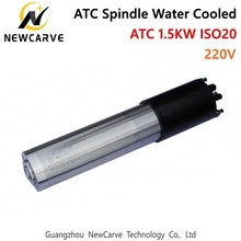 Atc Spindle Motor 1.5KW ISO20 CNC Automatic Tool Change Water Cooled Spindle Motor 24000rpm 220V From China NEWCARVE цены