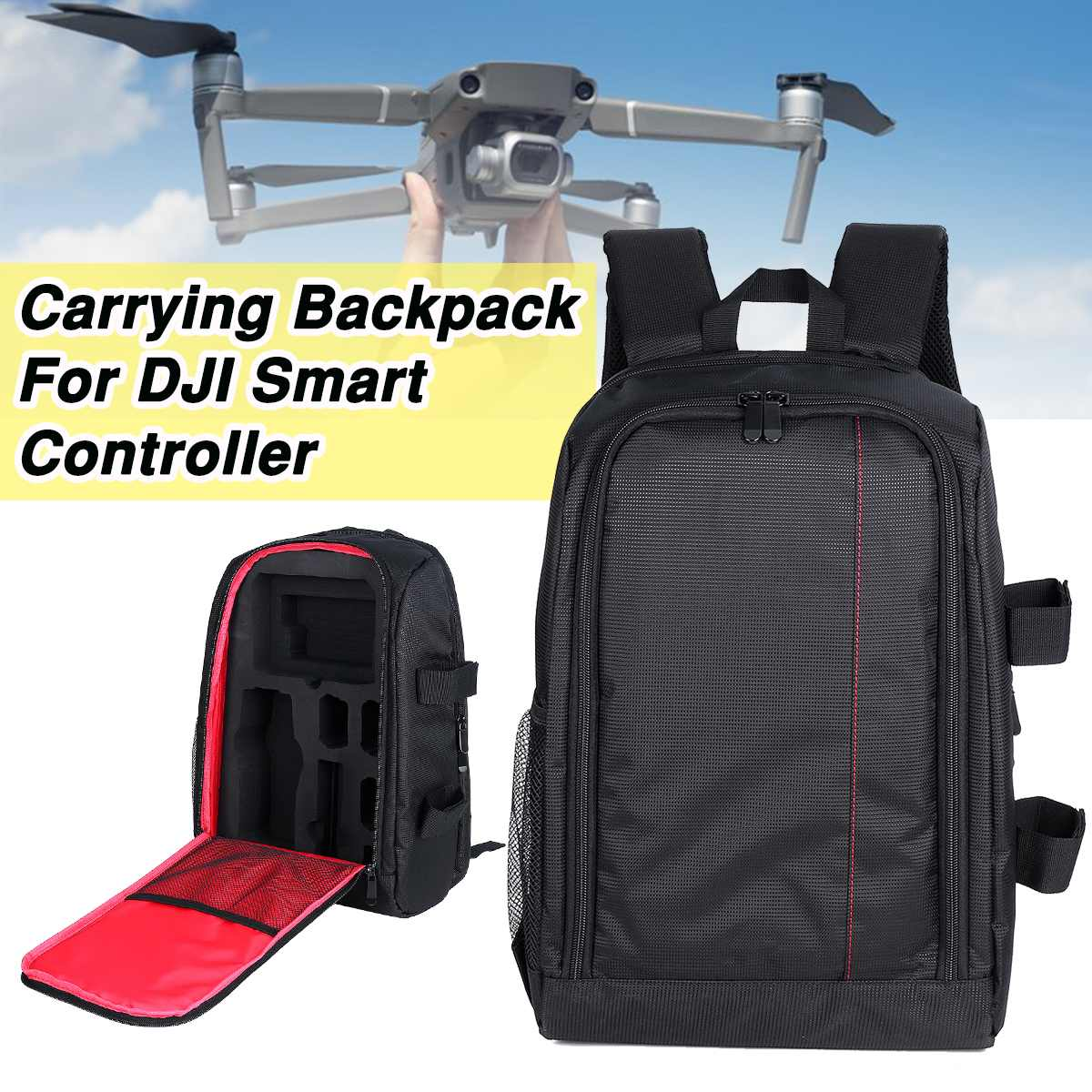 Carrying Backpack For DJI Smart Controller Mavic 2 Zoom ...