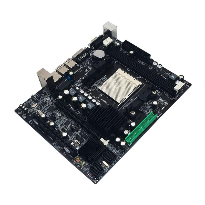 A780 PC Desktop Computer Motherboard DDR3 Dual Channel For AM3 RT8105E 100M Ethernet Network Card Mainboard