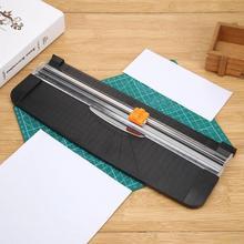 A4 портативный триммер для бумаги, прецизионный резак для бумаги, машина для резки офисных пластиковых этикеток, фото, машина для резки ковриков