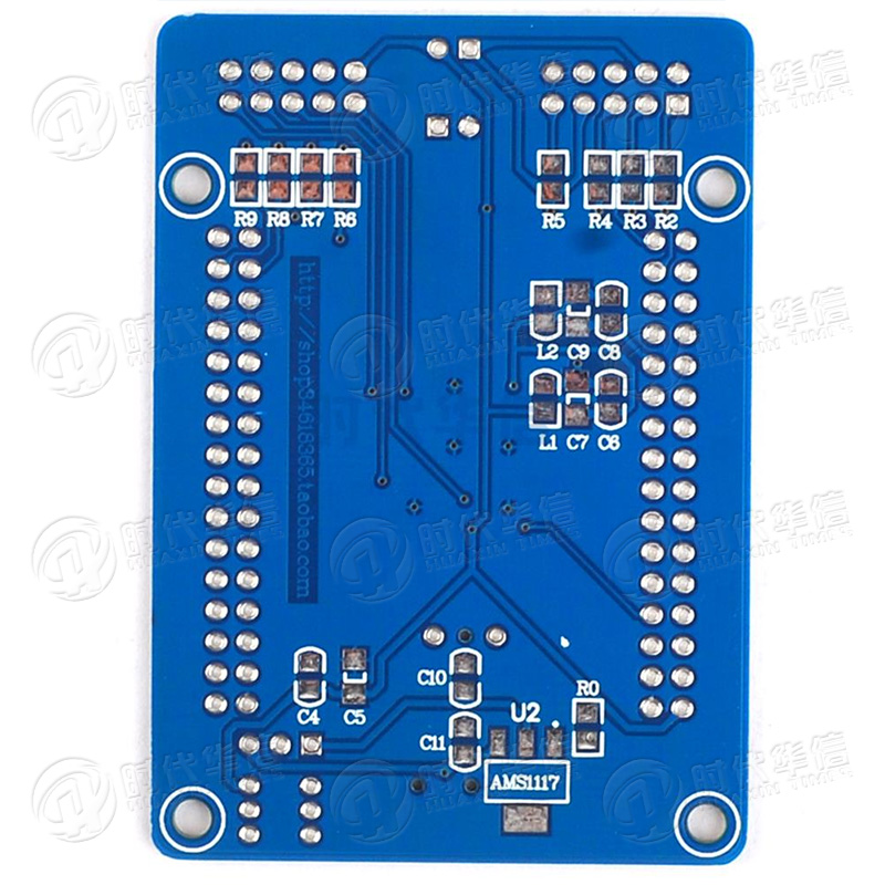 US $1 58 |Avr Atmega64 Atmega128a Au Development Plate Study Plate ISP+JTAG  Interface pcb-in Relays from Home Improvement on Aliexpress com | Alibaba