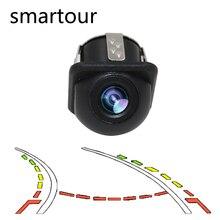Smartour Auto Reversing Parking Camera Intelligent Dynamic Trajectory Tracks Rear View Camera HD CCD Reverse Backup Assistance цена