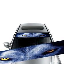Наклейка на лобовое стекло автомобиля, наклейка на заднее стекло, наклейка на переднее стекло, декоративная наклейка на стекло, 3D наклейка на солнцезащитный козырек