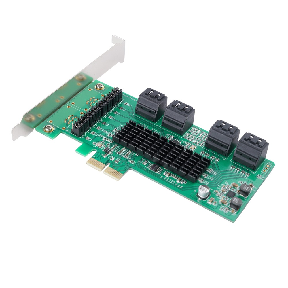 Computerkomponenten Zielsetzung Orico 8 Port Sata 3,0 Pci-e X1 Zu Usb3.0 Express Expansion Karte Usb 3.0 Ncq Protokoll 6 Gbps Speed Pcie Adapter Marvell9215 & Ma
