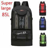 Grand sac à dos 80 L 85 capacité bagage alpinisme grand sac de voyage sacs de voyage sac à bandoulière week-end étanche