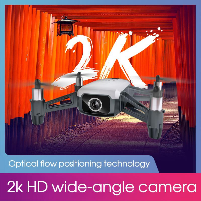 SHRC H2 Locke 2K WiFi FPV RC Drone RTF Smart Optical Flow Positioning Mode Remove Control Toys Children Birthday Gift Kids Toys