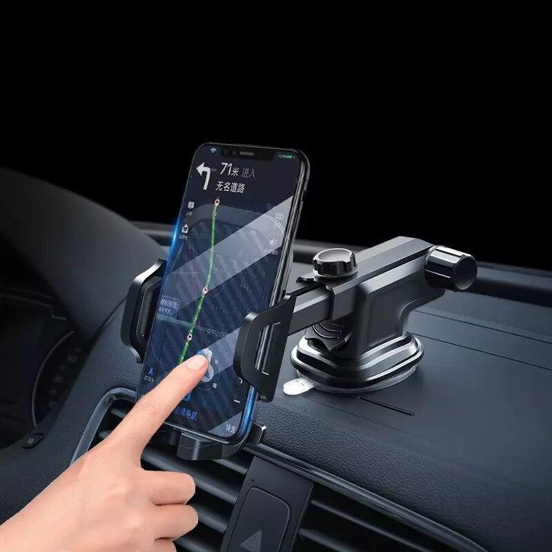 Luxus Auto Telefon Halter Für iPhone X XS 8 7 Plus Windschutzscheibe Auto Montieren Telefon Stehen Auto Halter Für Samsung s9 Telefon Tutucu