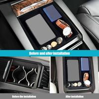 New Style Multi functional Car Wireless Charger Storage Box With Charger Connector For Tesla Model X/S