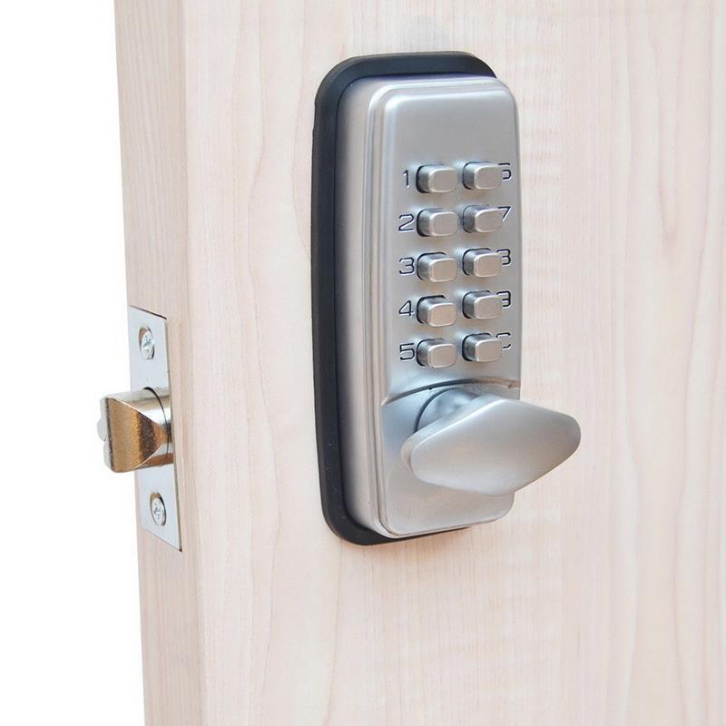 Digital Password Door Lock Mechanical Code Keyless Entry Doo