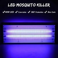 40 Вт 220 В УФ Шок Электрический лампы против насекомых Спальня Крытый Открытый сад насекомых летающих вредителей ошибка Zapper ловушки США Plug