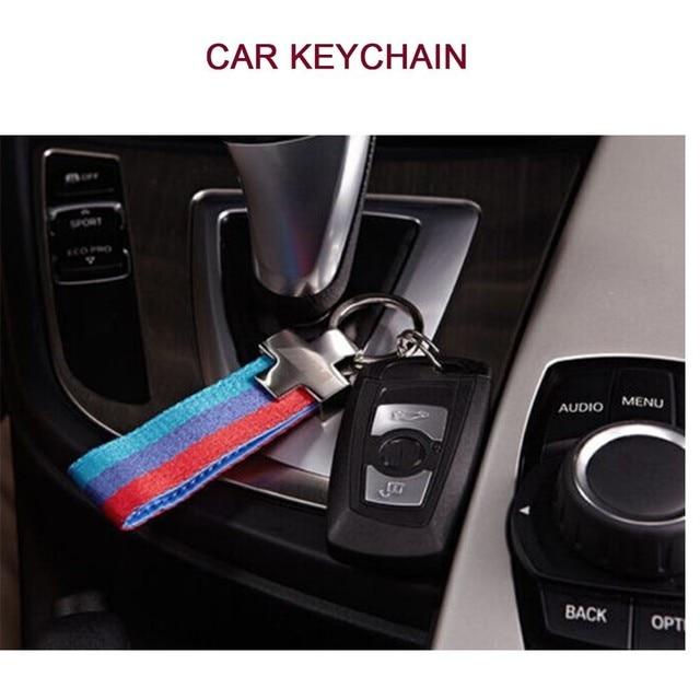 Auto Car Keychain Key Chain Keyring Holder Keyfob Fit For Bmw M3 M4