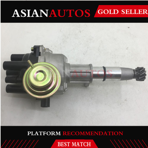 IGNITION DISTRIBUTOR for <font><b>MITSUBISHI</b></font> 4G63 <font><b>4G69</b></font> CAT GP18K FORKLIFT 4 cyls cylinders T2T84872 MD326637 MN131535 image