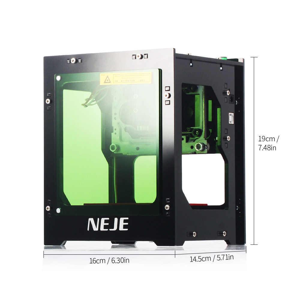 3000mW Mini m/áquina de Grabado l/áser USB Enrutador autom/ático de Madera CNC Grabador l/áser Impresora M/áquina de Corte y Corte 2000mW DGdolph NEJE DK-8-KZ 1000mW Negro 2000mw