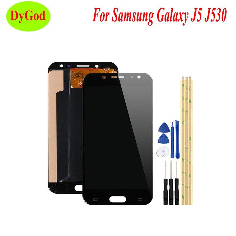 OLED 5.2 ''pour Samsung Galaxy J5 J5 Pro 2017 J530 J530F LCD écran tactile complet numériseur pièce de rechange avec outils