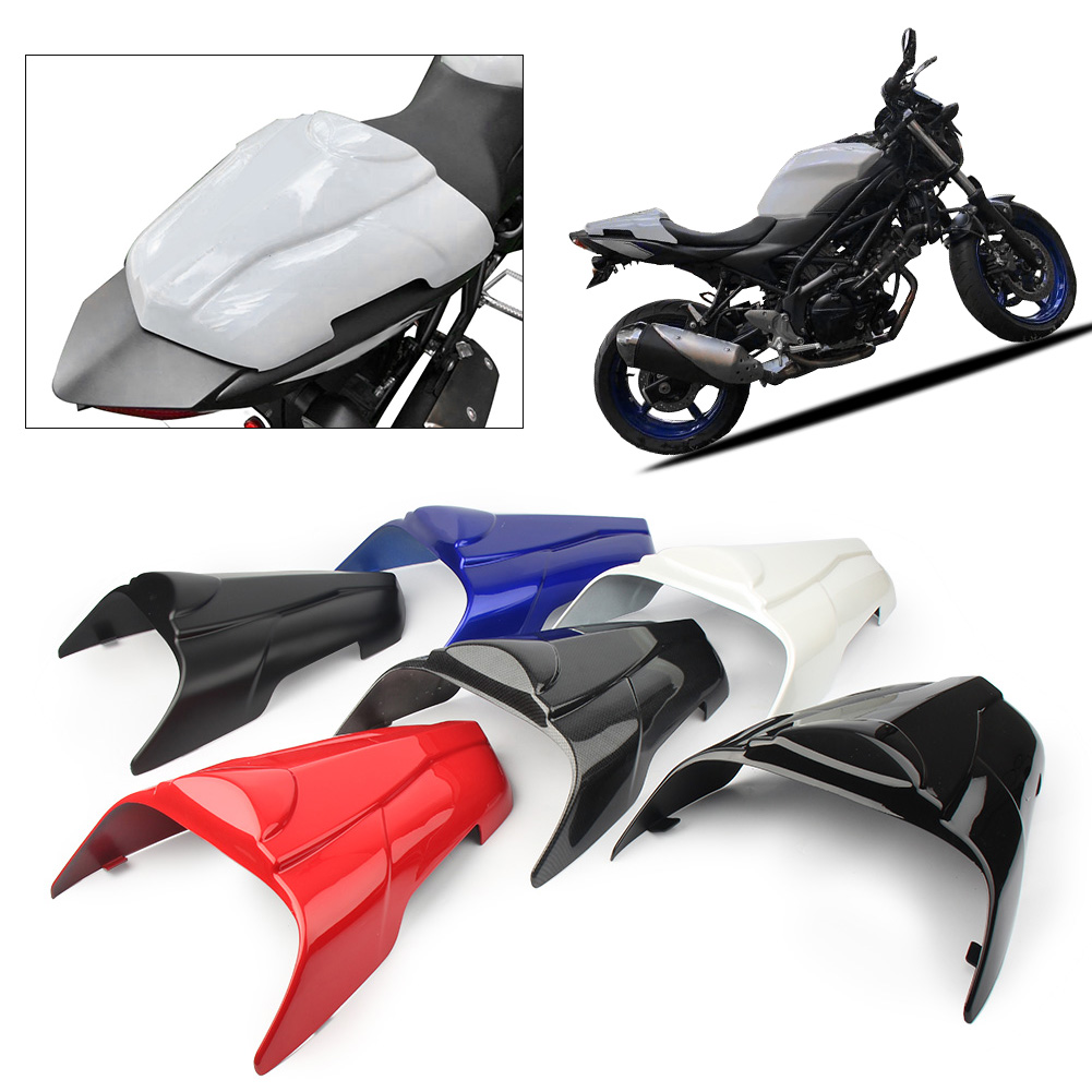 Motorcycle Rear Pillion Passenger Cowl Seat Back Cover Fairing Parts For 2017 <font><b>2018</b></font> <font><b>Suzuki</b></font> SV650 <font><b>SV</b></font> <font><b>650</b></font> image
