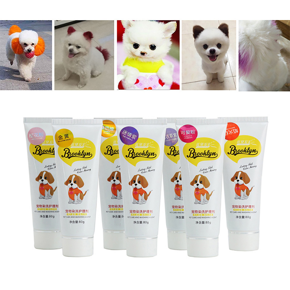 Pet Supplies Pet Cat Dyestuffs Dog Dyeing Agent Performance Hair ...