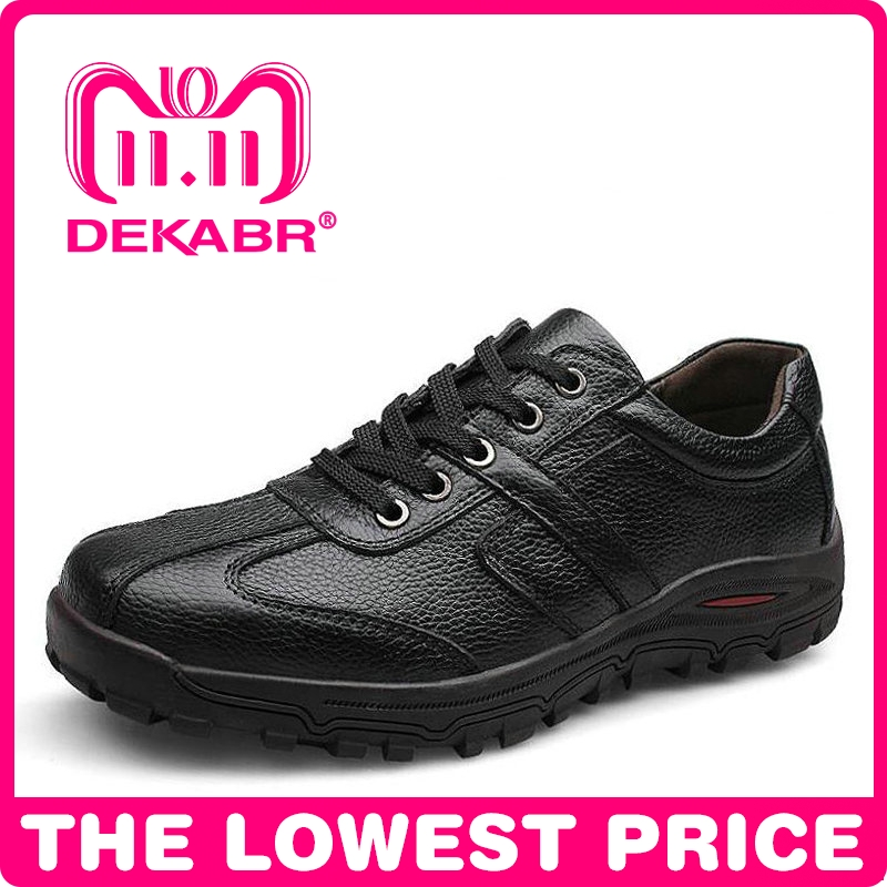 DEKABR Brand Size 38-48 Fashion Handmade Brand Genuine leather men Flats,Soft leather men Male Moccasins,High Quality Men Shoes vintage style classic 100% genuine leather men shoes fashion men flats soft leather male moccasins high quality shoes men